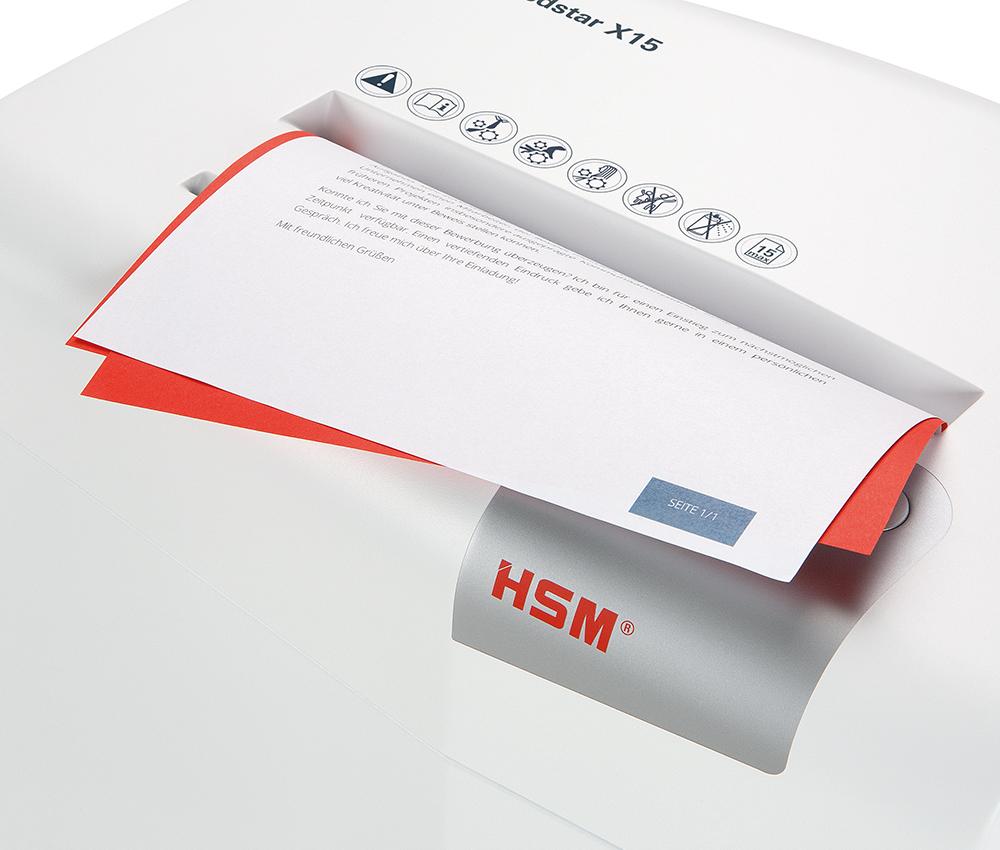 shredstar Anti-Papierstau Funktion