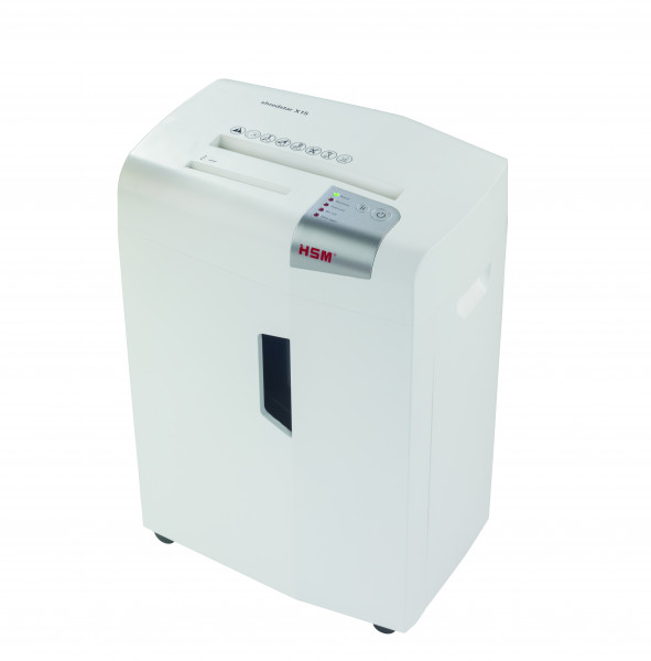 Document shredder HSM shredstar X15