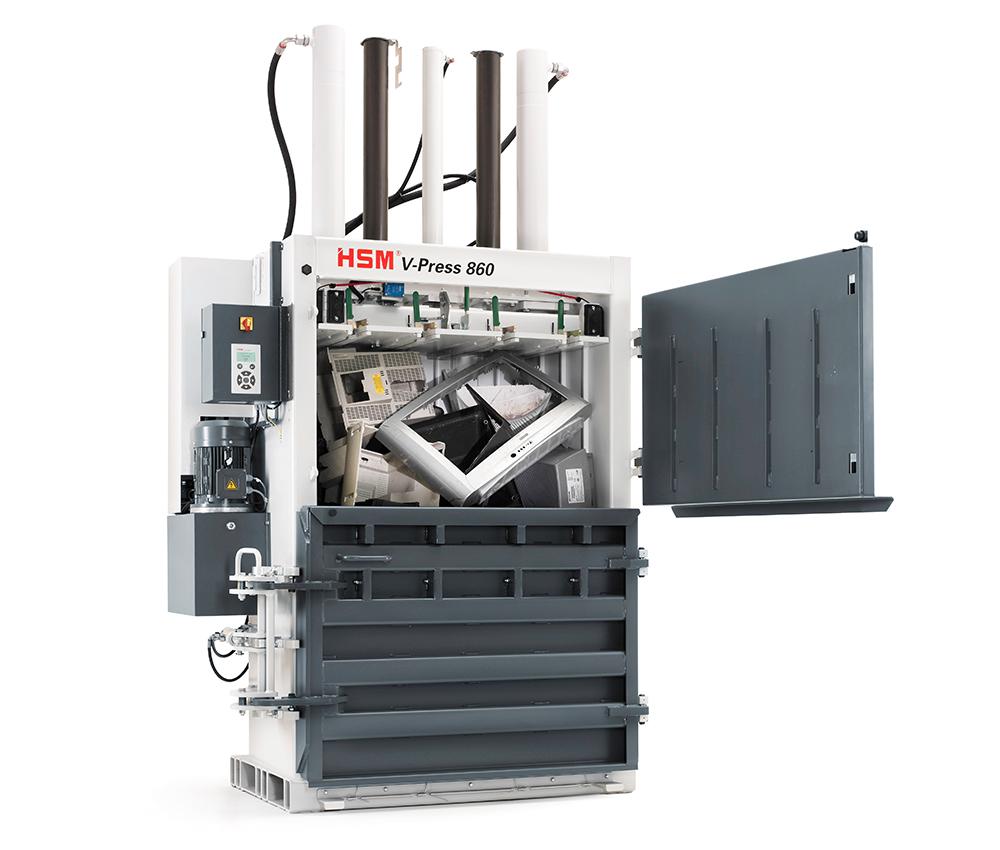 V-Press 860 S - Doppeltüre