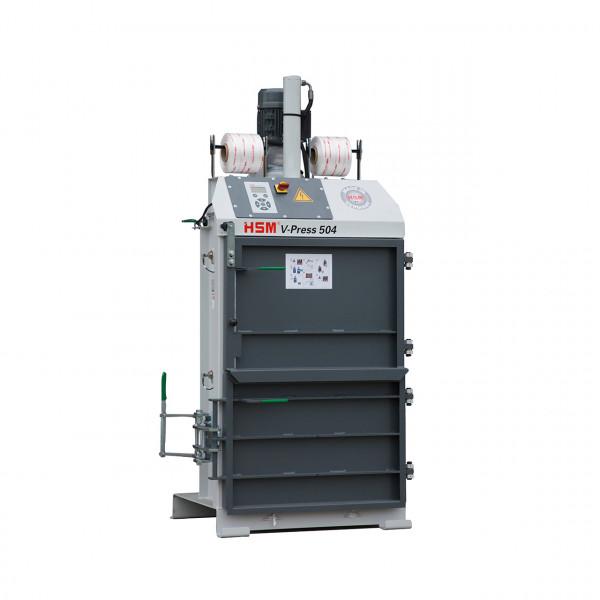 Vertikale Ballenpresse HSM V-Press 504