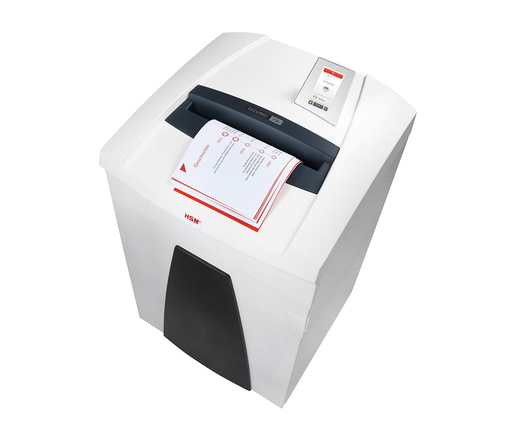 SECURIO Anti-Papierstau-Funktion Abteilung