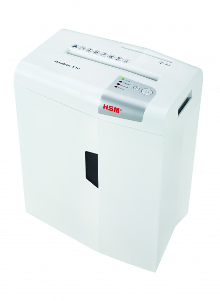 Document shredder HSM shredstar X10