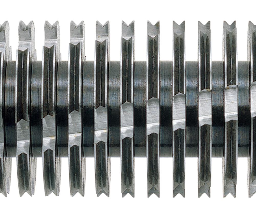 Pure Stahl-Schneidwellen