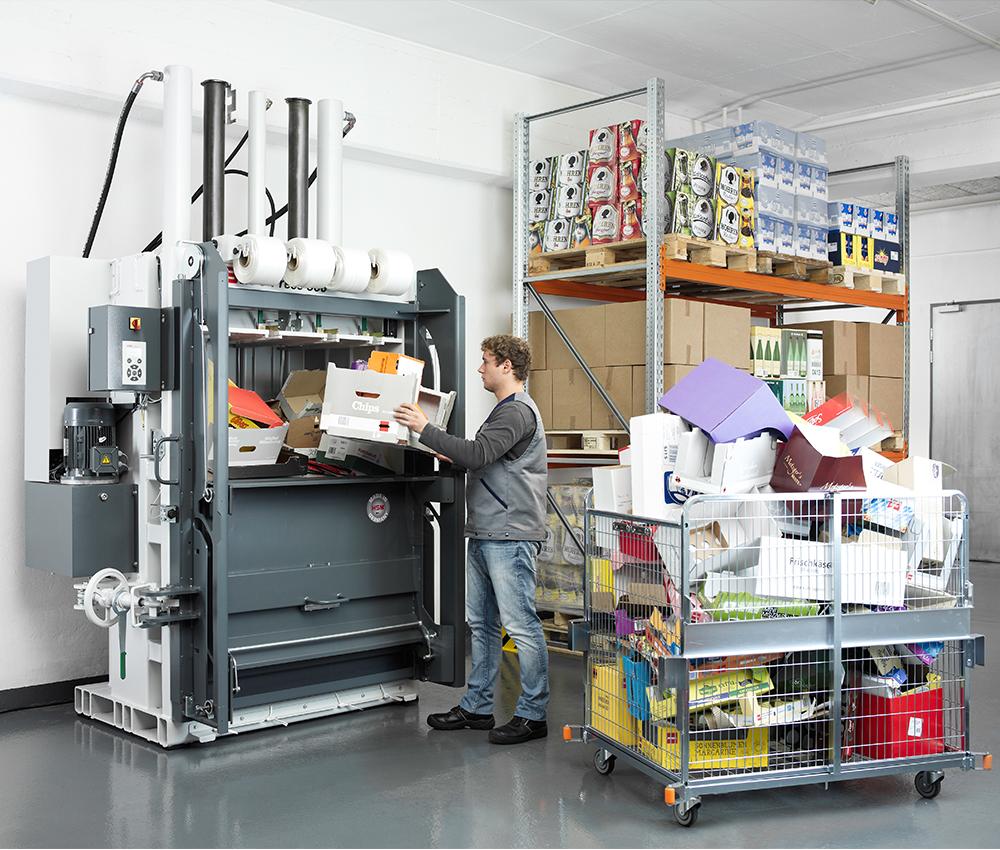 V-Press 860 - Schiebetüre