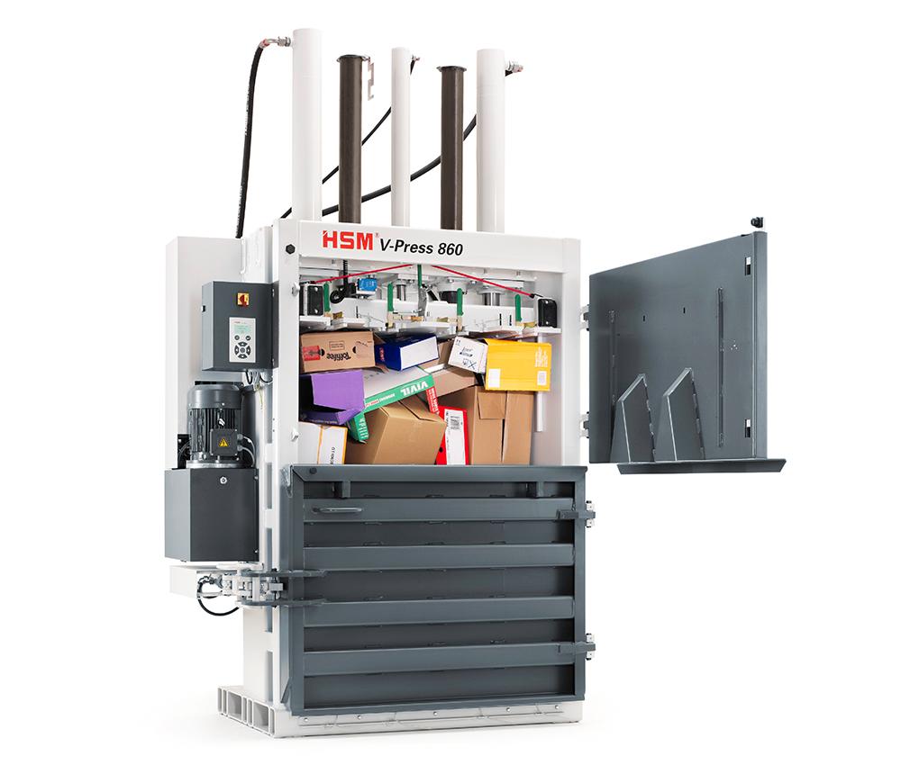 V-Press 860 L - Doppeltüre